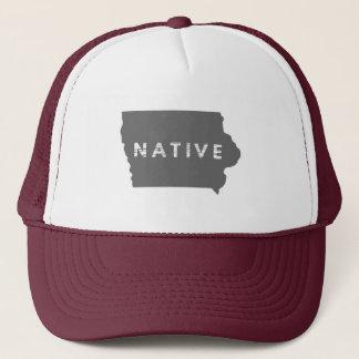 Boné Chapéu do nativo de Iowa