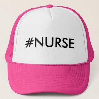 Boné Chapéu do #NURSE