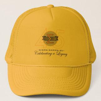 Boné Chapéu do ouro do aniversário do NU 45th da gama