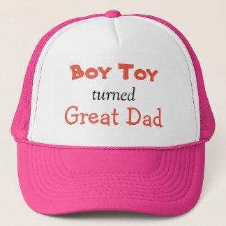 Boné Chapéu do pai do brinquedo do menino