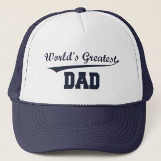 Boné Chapéu do pai do mundo o grande