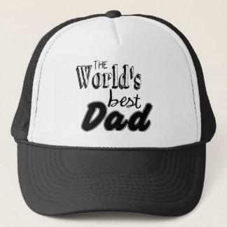 Boné Chapéu do pai do mundo o melhor