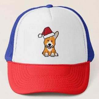 Boné Chapéu do papai noel do Natal de Galês do Pembroke