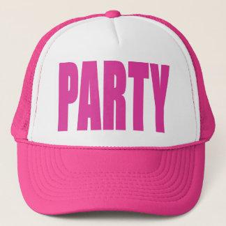 Boné Chapéu do partido do rosa quente