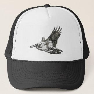 Boné Chapéu do pelicano do vôo