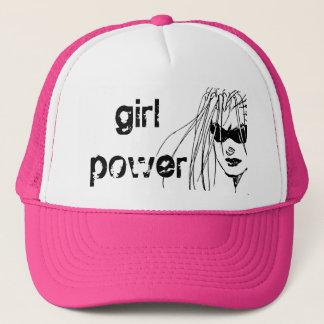 Boné chapéu do poder da menina