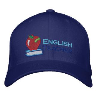 Boné Chapéu do professor de inglês