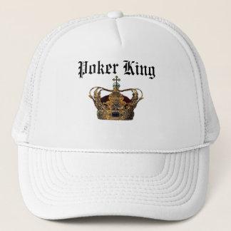 Boné Chapéu do rei do póquer