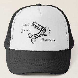 Boné Chapéu do salão de beleza do estilista do