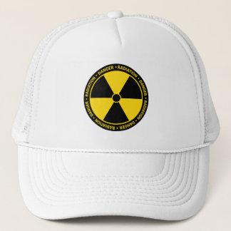 Boné Chapéu do símbolo da radiação
