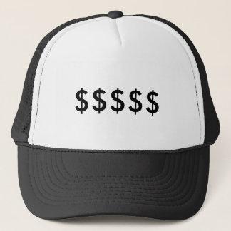 Boné Chapéu do sinal de dólar
