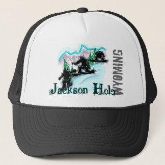 Boné Chapéu do snowboard de Jackson Hole Wyoming