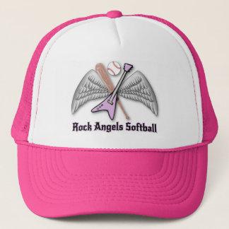 Boné Chapéu do softball dos anjos da rocha