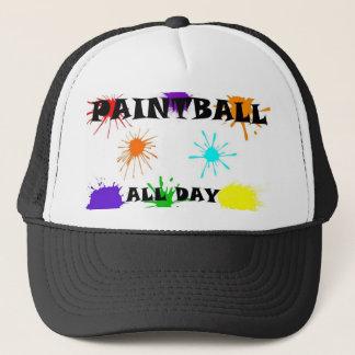 Boné chapéu do splat do paintball
