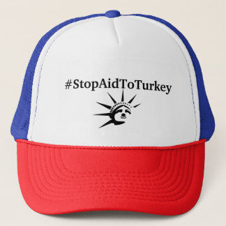 Boné Chapéu do #StopAidToTurkey