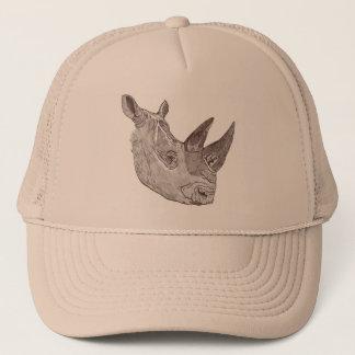 Boné Chapéu do sul do rinoceronte branco