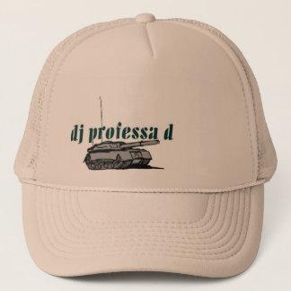 Boné chapéu do tanque do professa d do DJ