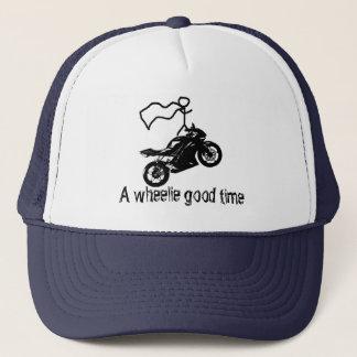 Boné Chapéu do tempo do wheelie um bom. Por Moto Life™