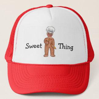 Boné Chapéu doce do pão-de-espécie da coisa