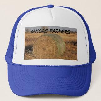 Boné Chapéu dos camionistas dos fazendeiros de Kansas