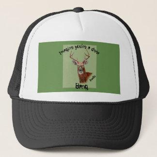 Boné Chapéu dos cervos com golpe