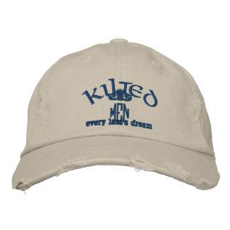 Boné Chapéu dos HOMENS de KILTED