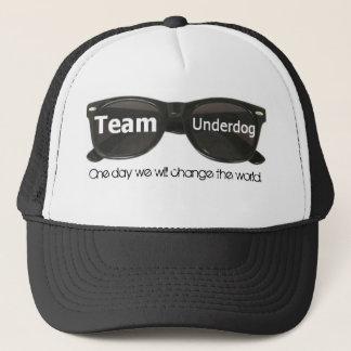 Boné Chapéu dos óculos de sol do preto da equipa fraca