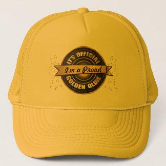 Boné Chapéu dourado oficial do camionista do Oldie