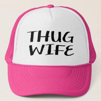 Boné Chapéu engraçado do camionista das mulheres da