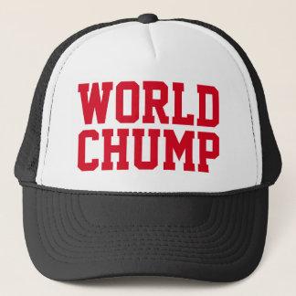 """Boné Chapéu engraçado do camionista: DO """"CHUMP MUNDO """""""
