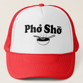 Boné Chapéu engraçado do foodie do provérbio de Pho Sho