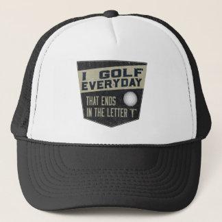 Boné Chapéu engraçado do golfe - golfe de I diário