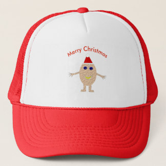 Boné Chapéu engraçado do ovo do Natal