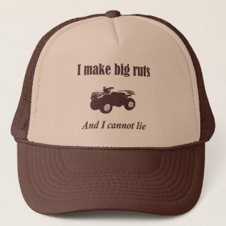 Boné Chapéu engraçado do país do veículo com rodas ATV