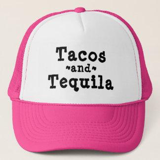 Boné Chapéu engraçado do Tacos e do camionista do