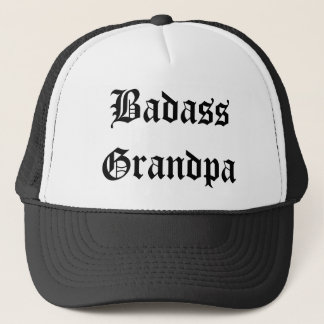 Boné Chapéu engraçado do vovô de Badass