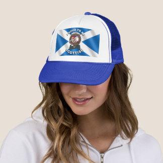 Boné Chapéu escocês do camionista do crachá do clã de