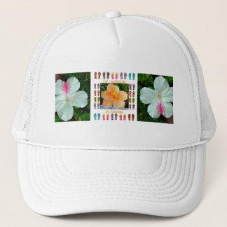 Boné chapéu, estilo do camionista, tapeçaria