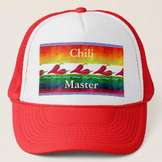 Boné Chapéu extravagante do mestre do pimentão