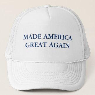 Boné Chapéu feito do camionista do excelente de América