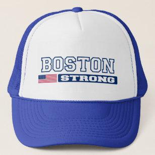 Boné Chapéu FORTE da bandeira de BOSTON E.U. (azul) 5e9c8bfd841