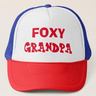 Boné Chapéu Foxy do camionista do vovô