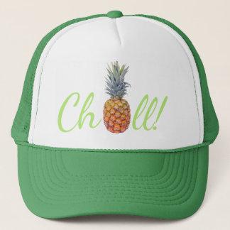 Boné Chapéu frio dos camionistas do abacaxi