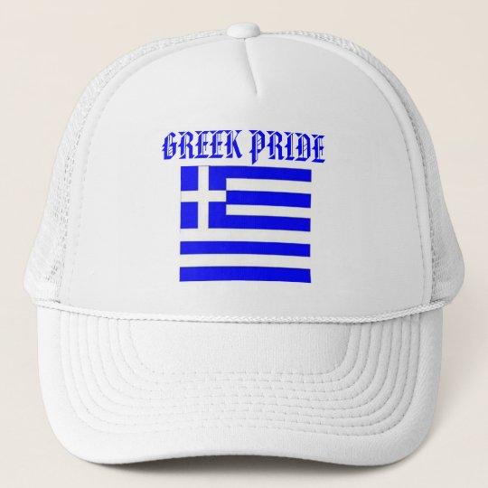fbfbf5500d57a Boné Chapéu grego do orgulho com a bandeira de GREECE.