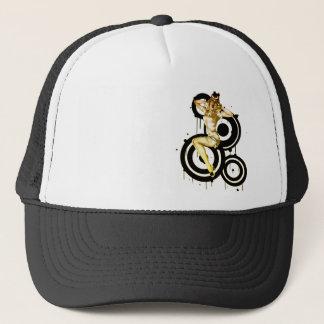 Boné Chapéu gritando do Pinup