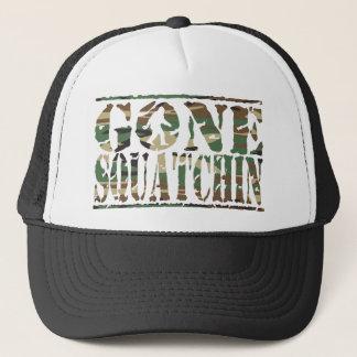 Boné Chapéu ido do impressão da camuflagem de Squatchin
