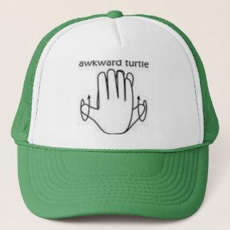 Boné chapéu inábil da tartaruga