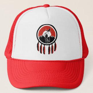 Boné Chapéu indiano do camionista do protetor do nativo