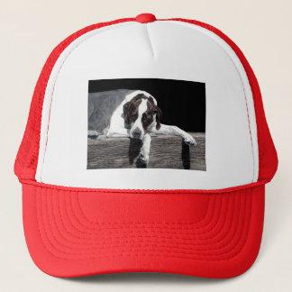 Boné Chapéu inglês do camionista do ponteiro de