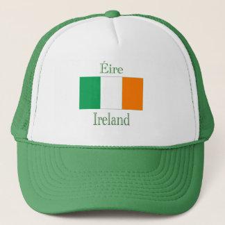 Boné Chapéu irlandês da bandeira
